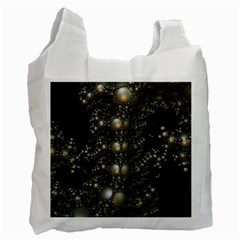 Fractal Math Geometry Backdrop Recycle Bag (two Side)