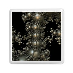 Fractal Math Geometry Backdrop Memory Card Reader (square)