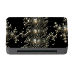 Fractal Math Geometry Backdrop Memory Card Reader With Cf