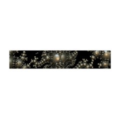 Fractal Math Geometry Backdrop Flano Scarf (mini)