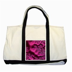 Fractal Artwork Pink Purple Elegant Two Tone Tote Bag