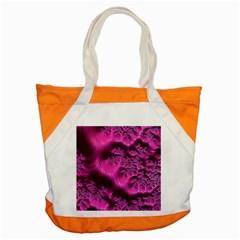 Fractal Artwork Pink Purple Elegant Accent Tote Bag