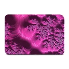 Fractal Artwork Pink Purple Elegant Plate Mats