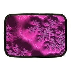 Fractal Artwork Pink Purple Elegant Netbook Case (medium)