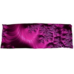 Fractal Artwork Pink Purple Elegant Body Pillow Case Dakimakura (two Sides)