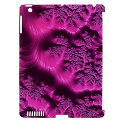 Fractal Artwork Pink Purple Elegant Apple Ipad 3/4 Hardshell Case (compatible With Smart Cover)