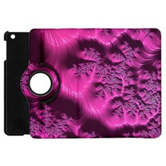 Fractal Artwork Pink Purple Elegant Apple Ipad Mini Flip 360 Case