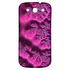 Fractal Artwork Pink Purple Elegant Samsung Galaxy S3 S Iii Classic Hardshell Back Case