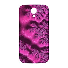 Fractal Artwork Pink Purple Elegant Samsung Galaxy S4 I9500/i9505  Hardshell Back Case