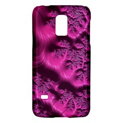 Fractal Artwork Pink Purple Elegant Galaxy S5 Mini