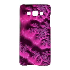 Fractal Artwork Pink Purple Elegant Samsung Galaxy A5 Hardshell Case
