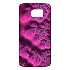 Fractal Artwork Pink Purple Elegant Galaxy S6