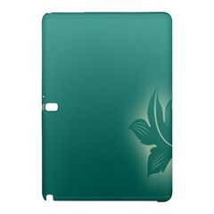 Leaf Green Blue Branch  Texture Thread Samsung Galaxy Tab Pro 12.2 Hardshell Case