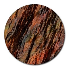 Texture Stone Rock Earth Round Mousepads