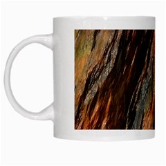 Texture Stone Rock Earth White Mugs