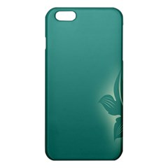 Leaf Green Blue Branch  Texture Thread iPhone 6 Plus/6S Plus TPU Case