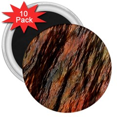 Texture Stone Rock Earth 3  Magnets (10 Pack)
