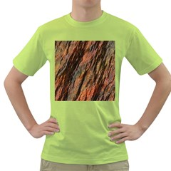 Texture Stone Rock Earth Green T Shirt