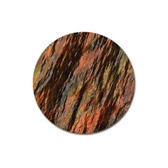 Texture Stone Rock Earth Magnet 3  (round)