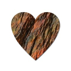 Texture Stone Rock Earth Heart Magnet