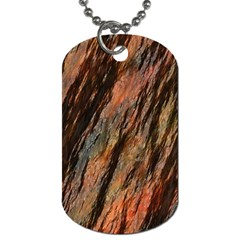 Texture Stone Rock Earth Dog Tag (one Side)