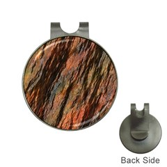 Texture Stone Rock Earth Hat Clips With Golf Markers