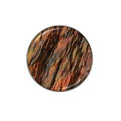 Texture Stone Rock Earth Hat Clip Ball Marker (4 Pack)