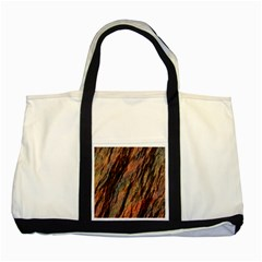 Texture Stone Rock Earth Two Tone Tote Bag