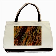 Texture Stone Rock Earth Basic Tote Bag (two Sides)