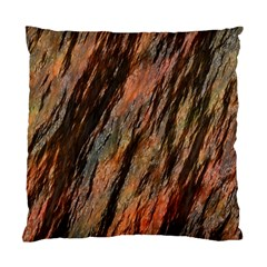 Texture Stone Rock Earth Standard Cushion Case (two Sides)