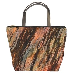 Texture Stone Rock Earth Bucket Bags