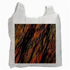 Texture Stone Rock Earth Recycle Bag (one Side)