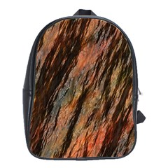 Texture Stone Rock Earth School Bags(Large)