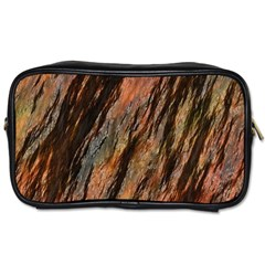 Texture Stone Rock Earth Toiletries Bags 2 Side