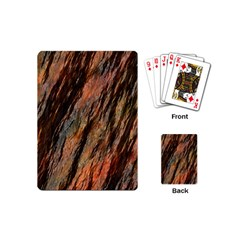 Texture Stone Rock Earth Playing Cards (Mini)