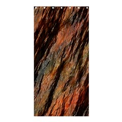 Texture Stone Rock Earth Shower Curtain 36  X 72  (stall)