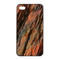 Texture Stone Rock Earth Apple Iphone 4/4s Seamless Case (black)