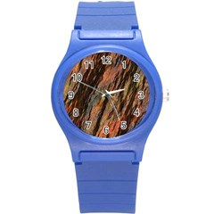 Texture Stone Rock Earth Round Plastic Sport Watch (s)