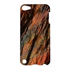 Texture Stone Rock Earth Apple Ipod Touch 5 Hardshell Case