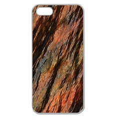 Texture Stone Rock Earth Apple Seamless Iphone 5 Case (clear)