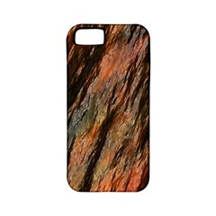 Texture Stone Rock Earth Apple Iphone 5 Classic Hardshell Case (pc+silicone)