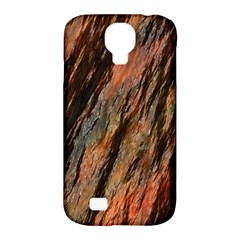 Texture Stone Rock Earth Samsung Galaxy S4 Classic Hardshell Case (pc+silicone)