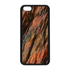 Texture Stone Rock Earth Apple Iphone 5c Seamless Case (black)