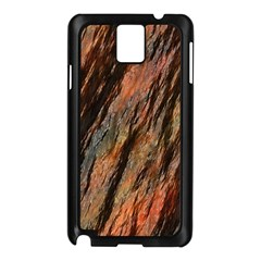 Texture Stone Rock Earth Samsung Galaxy Note 3 N9005 Case (black)