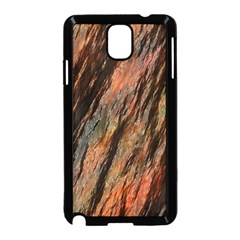 Texture Stone Rock Earth Samsung Galaxy Note 3 Neo Hardshell Case (black)