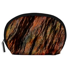 Texture Stone Rock Earth Accessory Pouches (large)