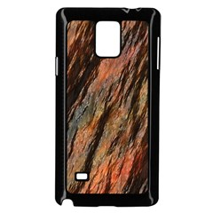Texture Stone Rock Earth Samsung Galaxy Note 4 Case (black)