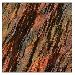 Texture Stone Rock Earth Large Satin Scarf (square)