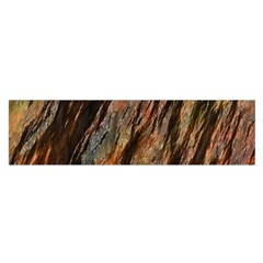 Texture Stone Rock Earth Satin Scarf (Oblong)