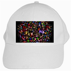 Network Integration Intertwined White Cap